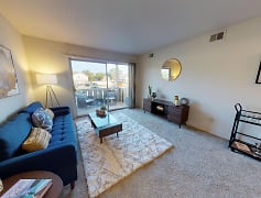 Living Room, Castle Pointe Apartments, 0