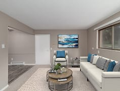 Living Room, Westridge Apartments And Townhomes, 0