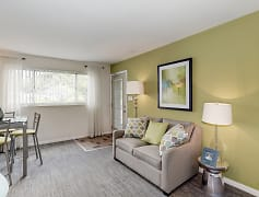 Living Room, Barclay Square Apartments, 0