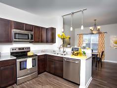 Kitchen, Stone Ridge Apartments & Townhomes at the Ridge, 0