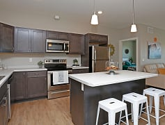Kitchen, The District Flats, 0