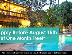 Apply Before August 15th Get One Month Free!*