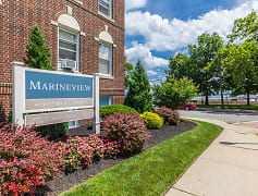 Community Signage, Marineview Apartments, 0