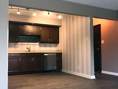 Kitchen, River Shore Apartments, 0