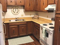 Kitchen, South Central Apartments, 0