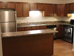 Kitchen, Springtree Apartments, 0