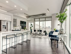 Spacious Floor Plans with Natural Hardwood Flooring and Gourmet Island Kitchens