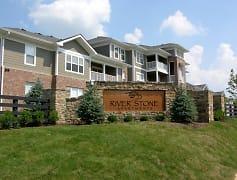 Community Signage, River Stone Apartments, 0