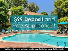 $99 Deposit and Free Application!*