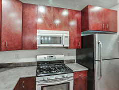 Kitchen, Axis at 739 Apartments, 0