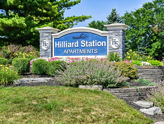 Community Signage, Hilliard Station Apartments, 0