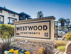 Westwood Apartments Exterior Monument Sign