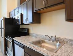 Midtown Apartments Kitchen