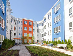 Courtyard, The Cobalt in Somerville, 0