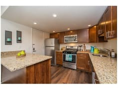 Newly remodeled kitchens with plenty of beautiful granite counter space