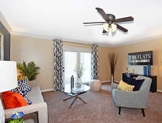 Living Room, The Flats at Hurstbourne, 0