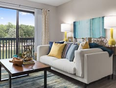 Living Room, Edgewater Village Apartments, 0