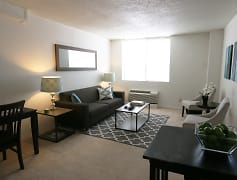 Living Room, Westbrook Tower Apartments, 0