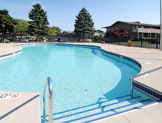 Pool, Windpoint Apartments, 0