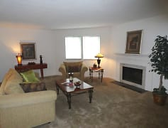 HUGE great room - wood burning fireplaces available