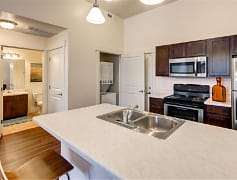 Kitchen, West Station Apartments, 0