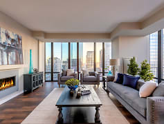 Living Room, The Nic On Fifth Apartments, 0