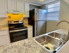 Kitchen, Garden Court Apartments, 0