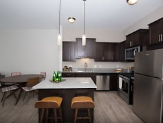 Kitchen, Birdtown Flats, 0