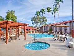 Pool, Desert Shadows, 0