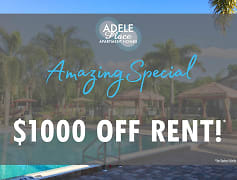Restrictions apply. Select units only. Please call the office for details.