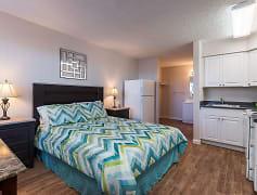 Bedroom, Trio Apartments, 0