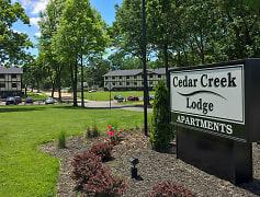 Community Signage, Cedar Creek Lodge, 0