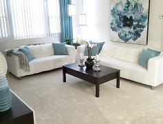 Living Room, Sovereign & Saxony Apartments, 0