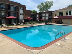 Pool, Randolph Square Apartments, 0