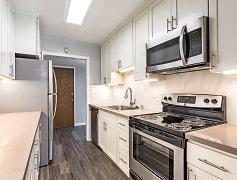 Remodel - stainless steel appliances, quartz countertops