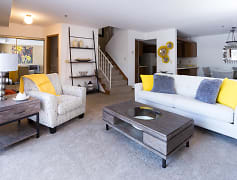 Living Room, Tanager Creek Townhomes, 0