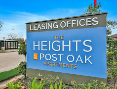 Community Signage, Heights at Post Oak, 0