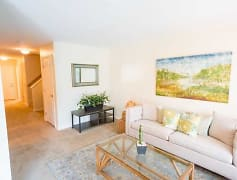 3 Bedroom Town Home Living Area