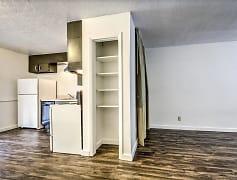 Kitchen, Oregon Trail Apartments, 0