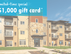 Limited-Time Special: $1,000 gift card