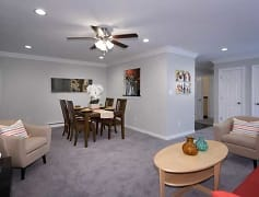 Living Room, Fairfield Village At Coram, 0