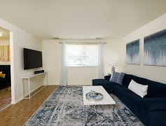 Living Room, Winston Apartments, 0