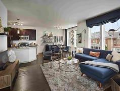 Living Room, Chestnut Square, 0