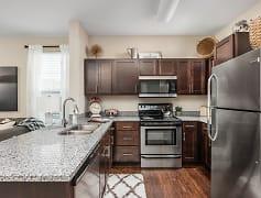 Kitchen, Overture Flats, 0