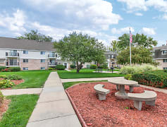 Courtyard, Country Club Apartments, 0