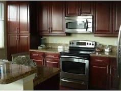 Kitchen, Boca Apartments, 0