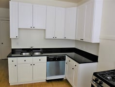 Beautiful new kitchen with stainless steel appliances, new cabinets and granite countertops