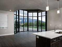 Living Room, Gardner Station Apartments, 0
