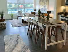 Open floor plans allow for a seamless flow from kitchen to living space
