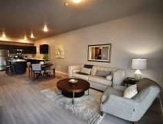 Living Room, Harper Ridge Apartments, 0